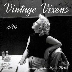 MONDAY 4/19 Vintage Vixens Sign Up Sheet
